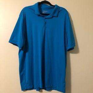 Nike Golf Dri-Fit short sleeve shirt.